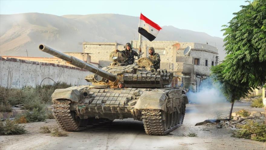 Siria lanza ofensiva a gran escala en el sur y avanza ante Daesh