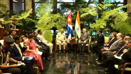 Cuba y La India se comprometen a profundizar vínculos