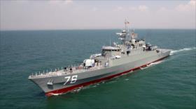 Irán reforzará el Golfo Pérsico con el modernizado destructor Dena