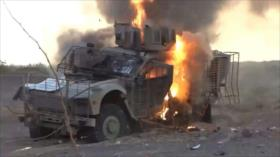 Ansarolá asesta duro golpe a mercenarios saudíes en Al-Hudayda