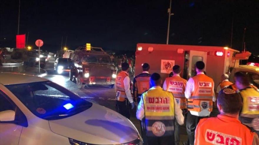 Tres soldados israelíes heridos en un atropello en Cisjordania