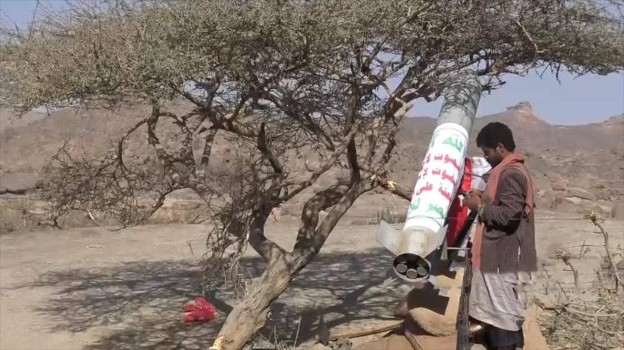 Yemeníes lanzan misil balístico contra puestos saudíes en Jizan
