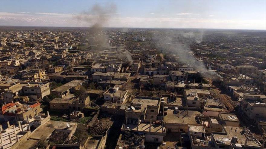 Terroristas disparan cohetes contra Daraa y matan a 2 civiles sirios