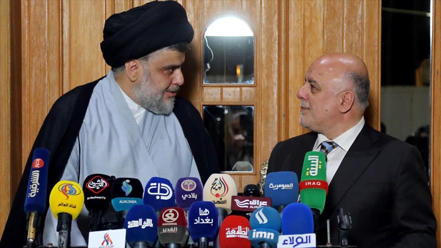 Al-Abadi y Al-Sadr acuerdan formar un gobierno de coalición en Irak