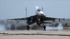 Ministerio de Defensa: Rusia retira 11 cazas militares de Siria