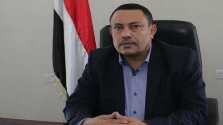 Abdul Salam Yaber, portavoz del Gobierno de Salvación Nacional de Yemen.