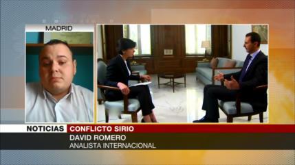 David Romero: OTAN armó a Daesh en Siria para derrocar a Al-Asad