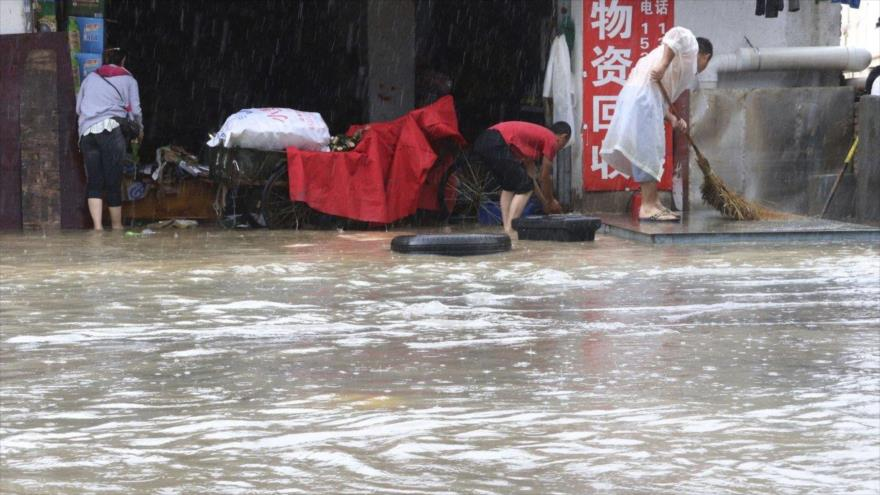Lluvias torrenciales causan graves inundaciones en China