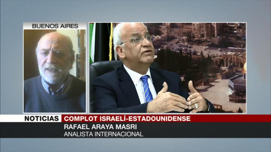 Rafael Masri: EEUU solo apoya a Israel para expulsar a palestinos