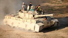 Fuerzas del llamado ELS se unen al Ejército sirio ante terroristas