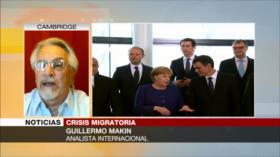 Guillermo Makin: UE muestra su cara racista frente a migrantes