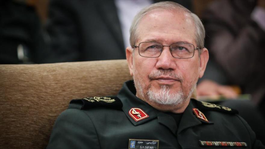 El general de división Yahya Rahim Safavi, asesor para Asuntos Militares del Líder de la Revolución Islámica de Irán.