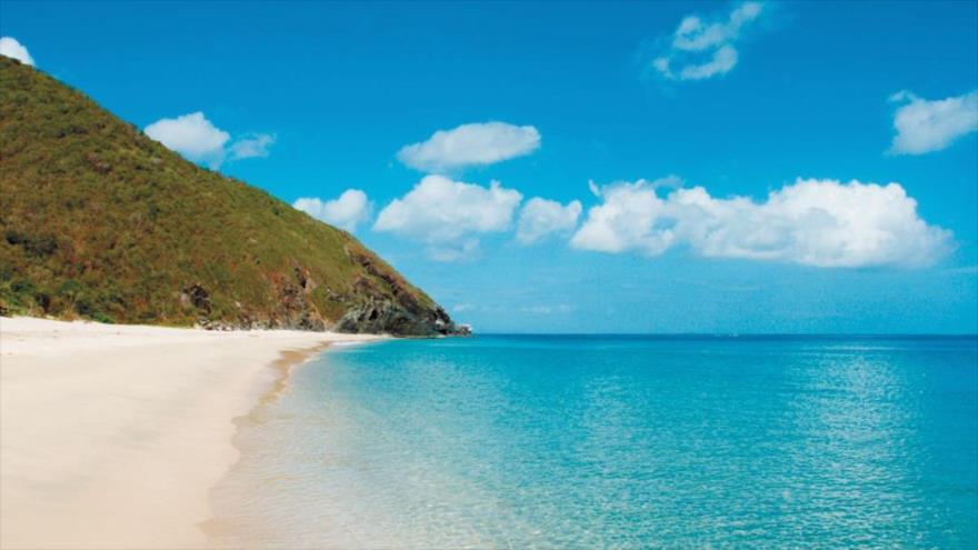 Una playa de la isla Margarita, uno de los destinos turísticos más conocidos de Venezuela.