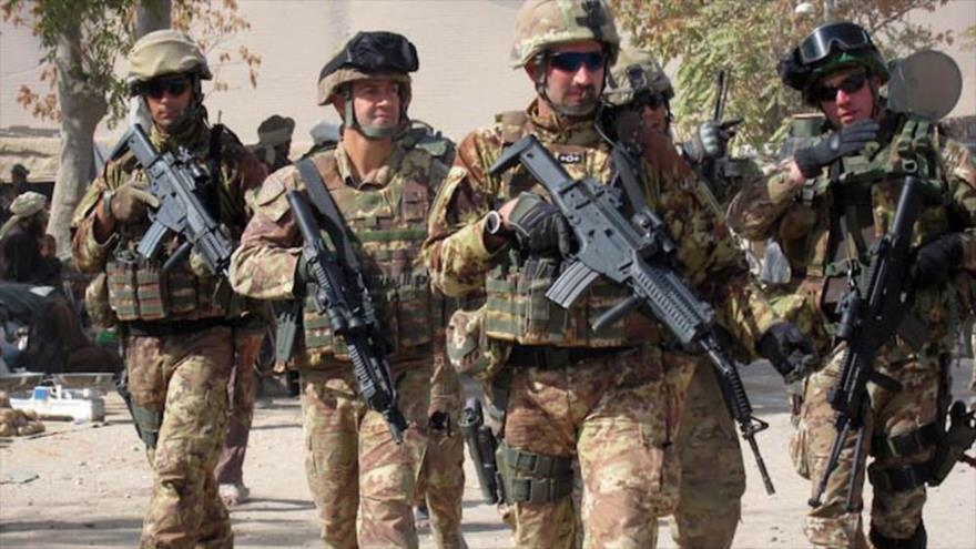 Italia envía tropas a base militar de coalición de EEUU en Siria