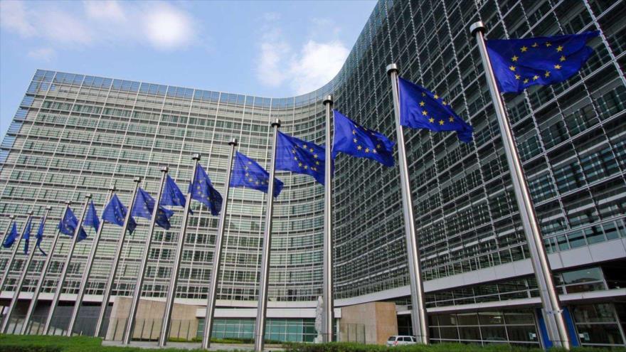 Sede de la Unión Europea en Bruselas, capital de Bélgica