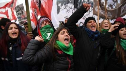 Macri afronta la mayor huelga general de su mandato