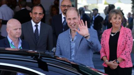 """Príncipe Guillermo en Palestina busca ocultar crímenes israelíes"""