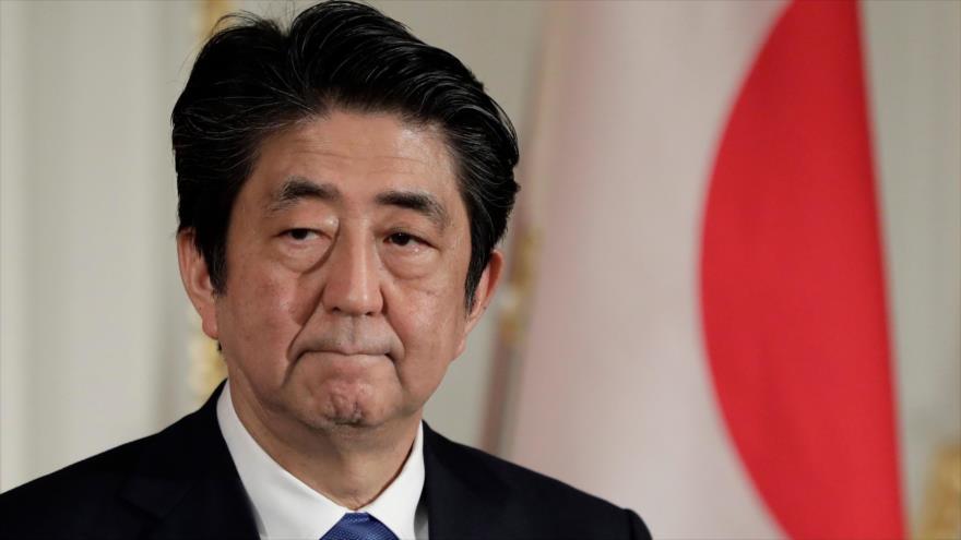 El primer ministro de Japón, Shinzo Abe, en Tokio, 9 de mayo de 2018.