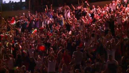Irán: Ambiente de alegría, emoción y esperanza en el estadio Azadi