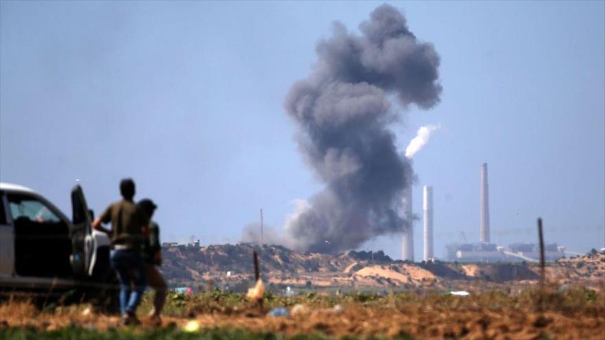 Drones israelíes bombardean a palestinos en el este de Gaza