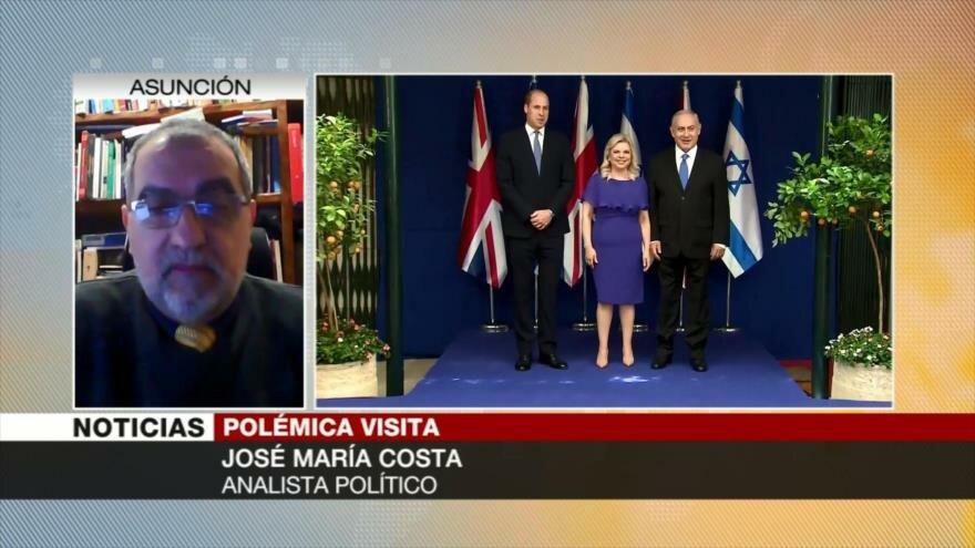 José María Costa: El Reino Unido ignora violaciones de DDHH por Israel