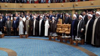 Presidentes de 3 Poderes de Irán reprochan política hostil de EEUU