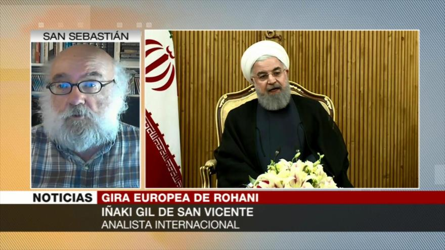 Iñaki Gil: Europa puede ayudar a mantener vivo pacto nuclear iraní