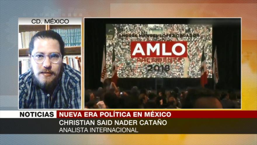 Christian Said: López Obrador es nacionalista y chocará con Trump