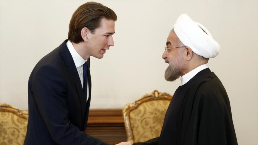 El presidente de Irán inicia una gira europea