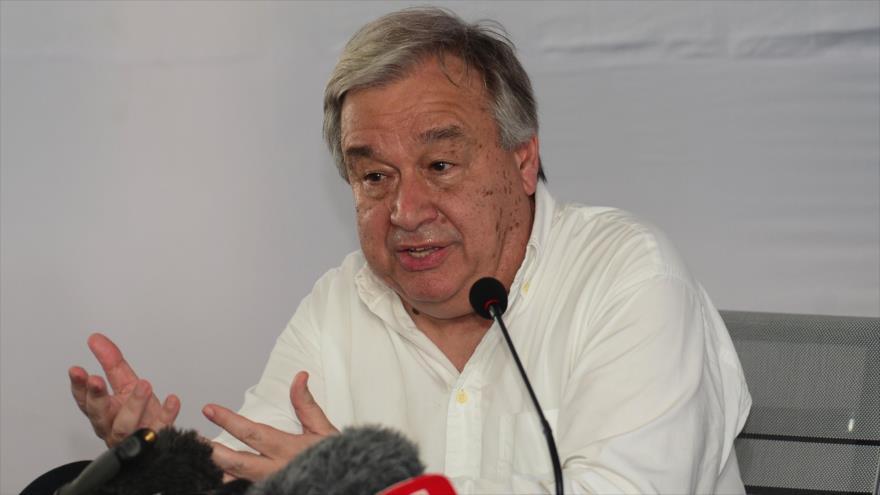 Guterres pide ayuda urgente para miles de rohingyas en Bangladés