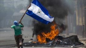 Informe: EEUU financia los actos de vandalismo en Nicaragua