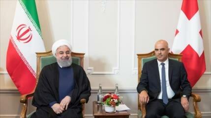 Rohani: Irán y Suiza están decididos a reforzar lazos bilaterales