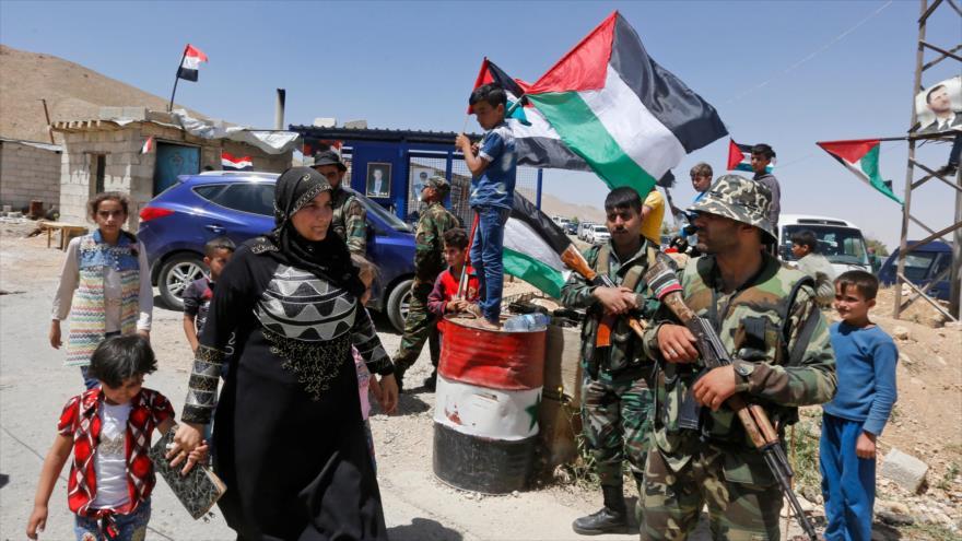 Ataques desplazan a 270 mil en sur de Siria