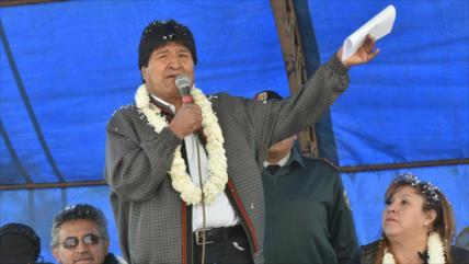 Evo Morales: Trump está aislado por su muro de racismo