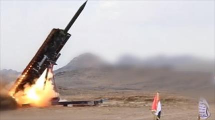 Yemen presenta plataforma subterránea de lanzamiento de misiles