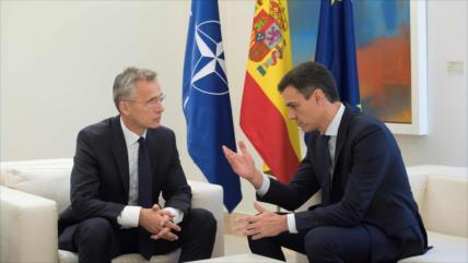 Trump exige a Sánchez que España aporte más dinero a la OTAN