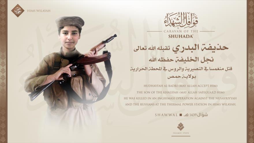 Muere el hijo del líder del Estado Islámico en un atentado suicida