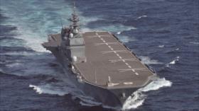 Japón enfurecerá a China enviando portaviones a aguas disputadas
