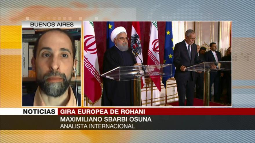 Sbarbi Osuna: Europa busca salvar sus grandes inversiones en Irán