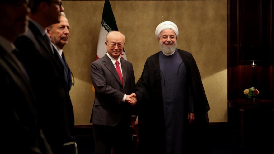 Irán: Otras partes deben compensar salida de EEUU de pacto nuclear