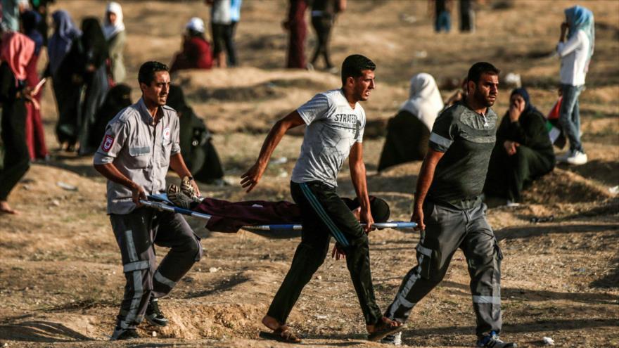 Muere adolescente palestino herido por fuego israelí en Gaza