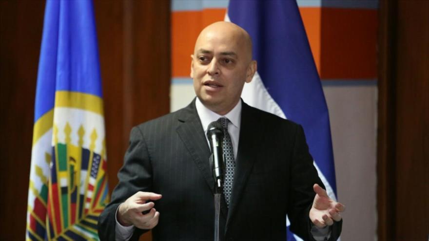 Óscar Chinchilla, el fiscal general de Honduras.