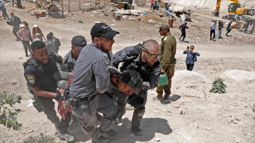 Amnistía advierte de 'crimen de guerra' israelí en aldea palestina