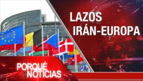 El Porqué de las Noticias: Banco Europeo en Irán. Tensión Moscú-Londres. Guerra comercial