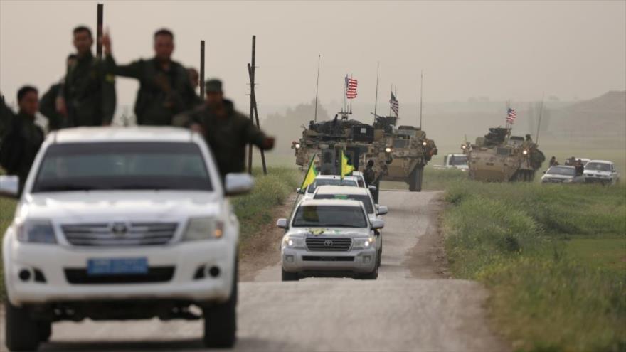 EEUU envía 100 camiones con armas a milicias kurdas en Al-Hasaka | HISPANTV