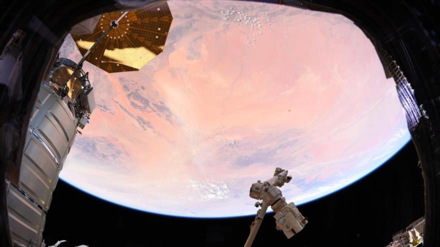 Foto tomada por el astronauta alemán Alexander Gerst.