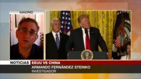 Steinko: Guerra comercial de EEUU afecta la economía mundial