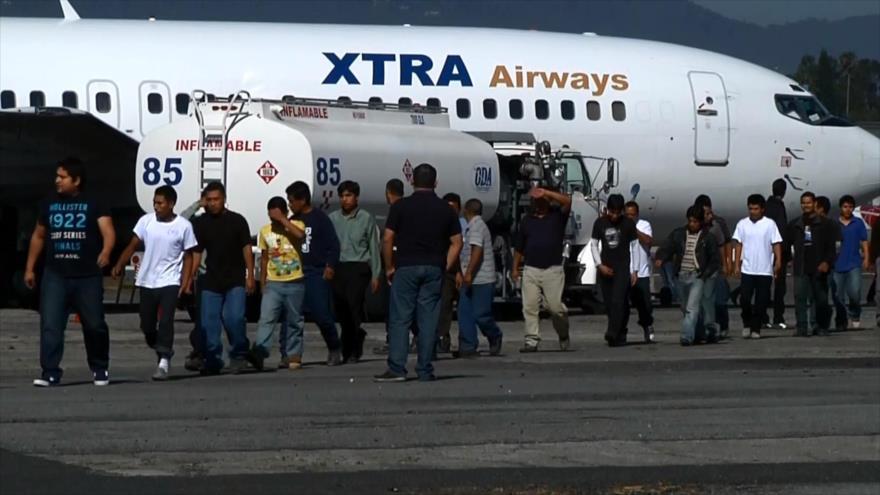 Cifra de guatemaltecos deportados de EEUU se incrementa en un 55 %