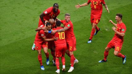 Bélgica elimina a Brasil y clasifica para semifinales del Mundial