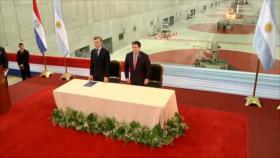 Dura crítica en Paraguay al acuerdo Cartes-Macri